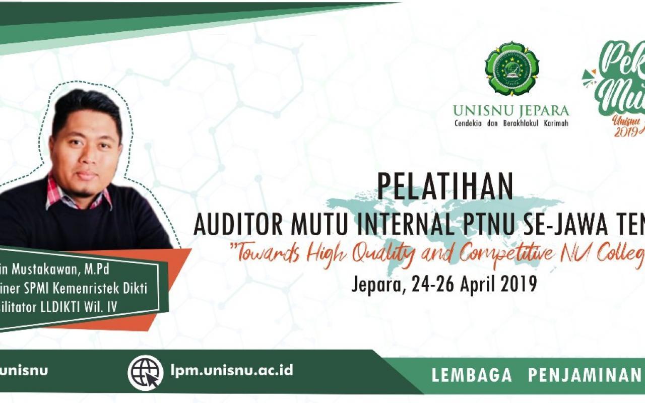 Pelatihan Auditor Mutu Internal