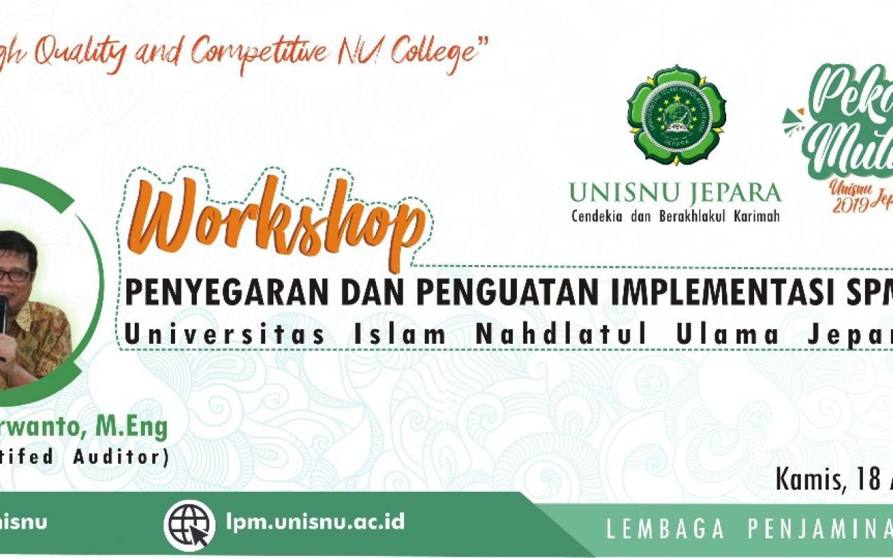 Workshop SPMI