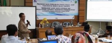 Workshop Lanjutan Program Asuh PT Unggul 2019, 01 Oktober 2019