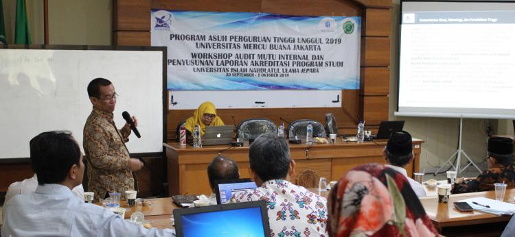 Siapkan Akreditasi Program Studi 4.0, Unisnu Gelar Workshop