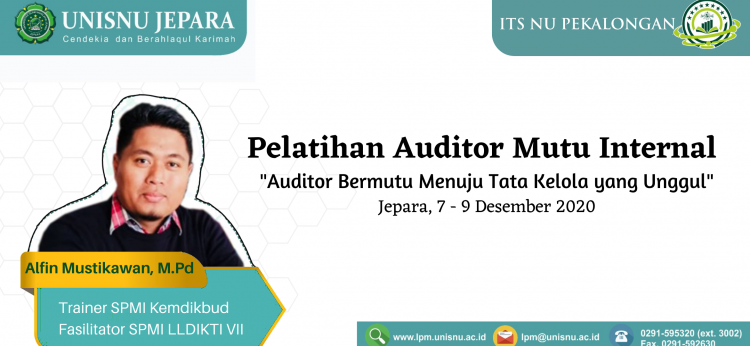 Pelatihan Auditor Mutu Internal 2020