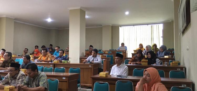 Harapkan Partisipasi Pejabat Sruktural, LPM gelar Sosialisasi Workshop SPMI